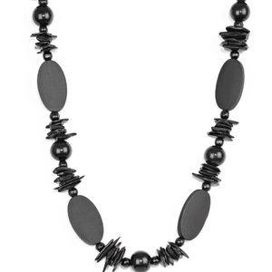 Carefree Cococay - Black Necklace